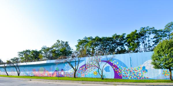 Columbia Avenue Mural