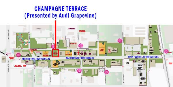 GrapeFest Champagne Terrace