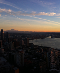 Up in Cloud 9 on top of the Space Needle Blog City View3