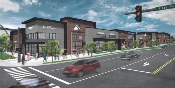 Hershey Towne Center Rendering 2017