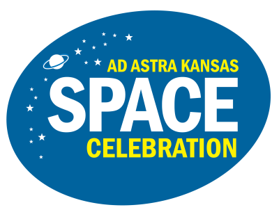 Ad Astra Kansas Space Color logo