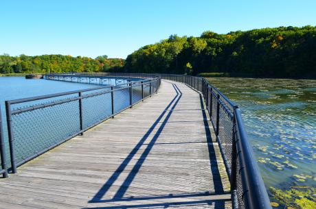 Boardwalk at Turning Point Park