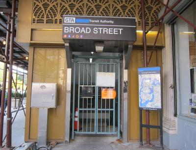Newark Broad Street Entrance
