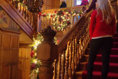 Holiday Mansion Tours at Brucemore