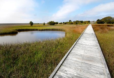 Fort Fisher State Recreation Area Boardwalk