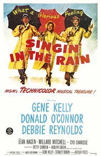 Singin in the Rain PAC movie poster