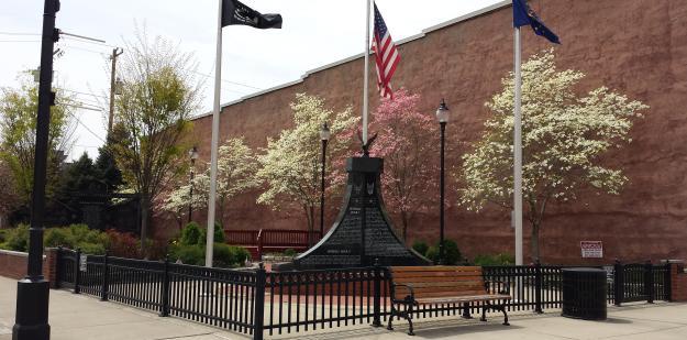 Veterans Park in the Spring