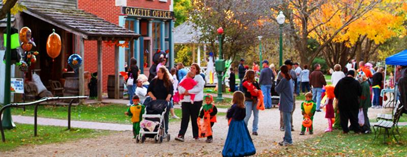 All Hallows Eve at Midway Village