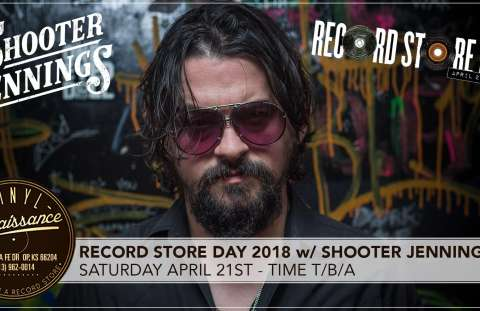 Record Store Day 2018 with Shooter Jennings Live!