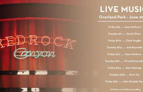 Live Music at Redrock