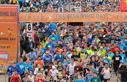 Thanksgiving Day 5K Run & Family Stroll