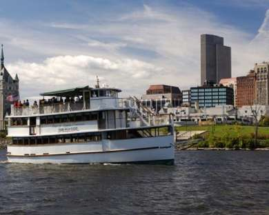 Albany Sightseeing Cruise 1p to 2:30p (boards 12:30p)