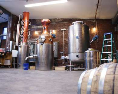 Albany Distilling Tours