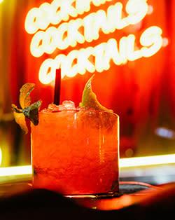 Bar X cocktail
