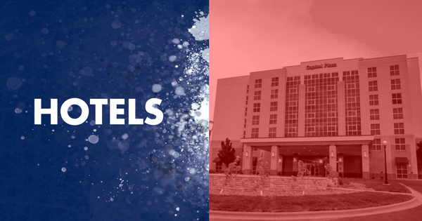 graphic for promoting hotels for kansas kids