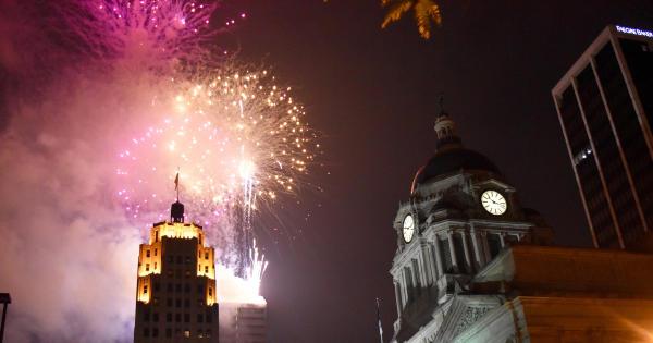 Downtown Fort Wayne Fireworks Show
