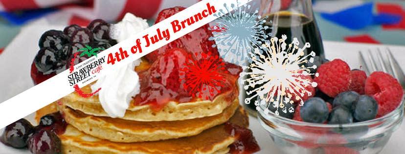 Strawberry Street Cafe July 4th Brunch