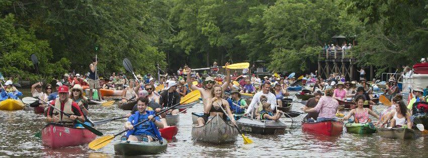 Bayou Vermilion Boat Parade