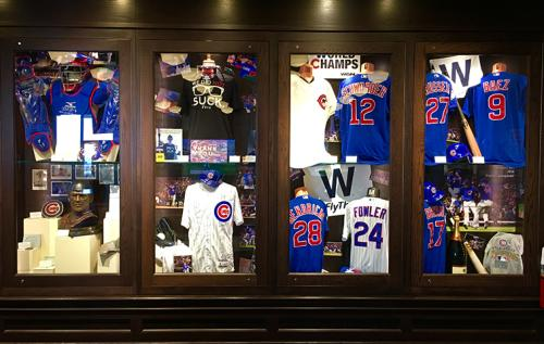 World Series Exhibit at the Chicago Sports Museum