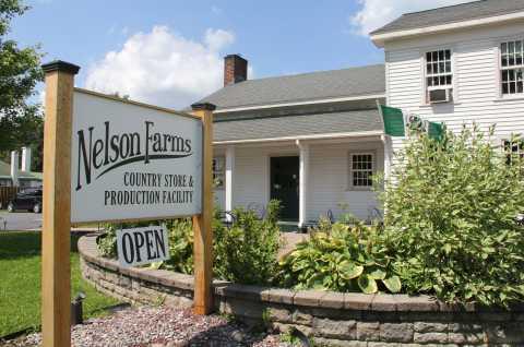 Nelson Farms Exterior Sign