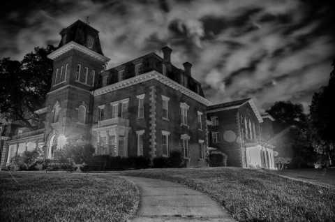 Oneida Community Mansion House Haunted