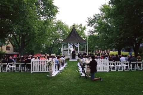 White Eagle Conference Center Gazebo Ceremony 2