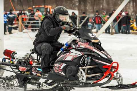 Snowmobile drags