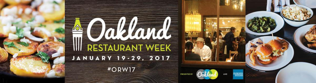 Oakland Restaurant Week 2017