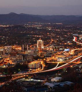 Downtown Roanoke Overlook