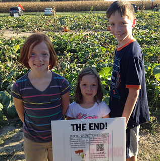Hogan Farms Corn Maze is full of family fun!