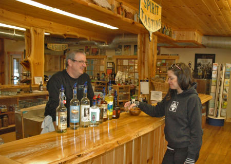 Chatting about Spirits at Northern Latitudes in Lake Leelanau