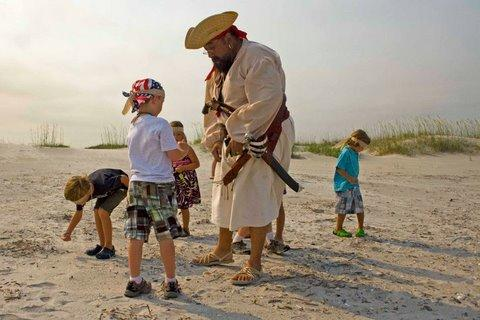 pirate and kids