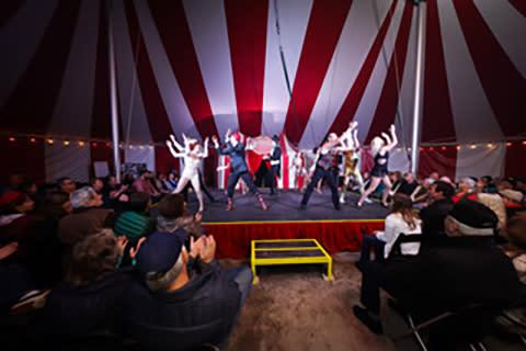 Circus Venardos Performance under the Big Top