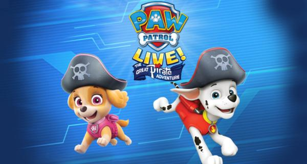 Paw Patrol Live, Great Pirate Adventure