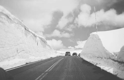 Trail Ridge Road Snow Walls