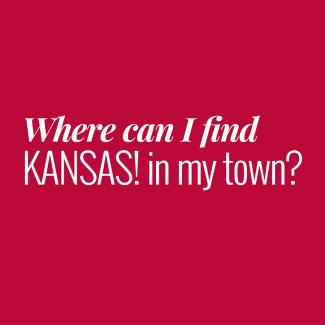 Where to find KANSAS!
