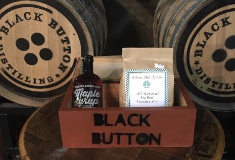 Black Button Distilling Maple Syrup made in Rochester, NY