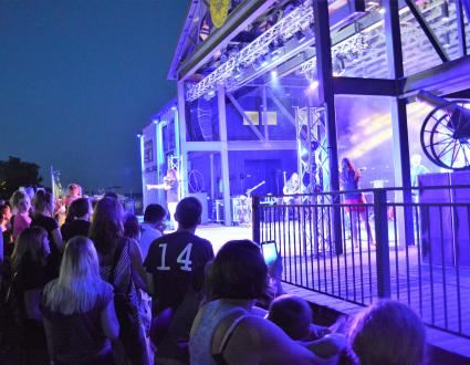 Jeffersonville RiverStage Louisville Crashers concert
