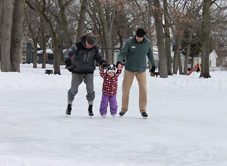 Ice Skating at F&M Park