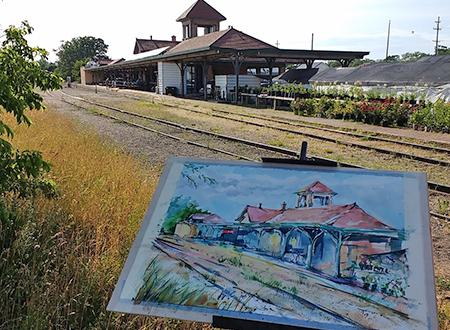 Traverse City Train Depot