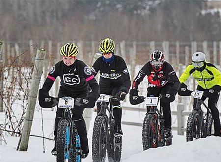 Fat Bike Race at 45 North