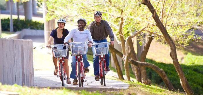 Houston Green Transportation Bicycle Riders