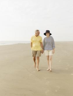 Romantic walks on a number of Golden Isles beaches
