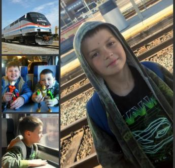 Traveling Amtrak With Kids