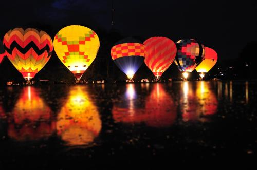 Balloon Glow RiverFest 2016