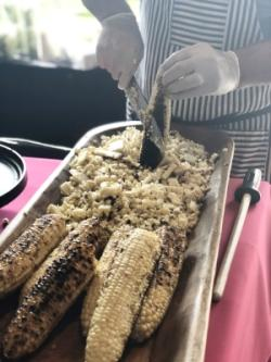 Puesto Corn at OC Restaurant Week Launch Party