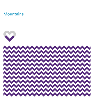 Patterns - Mountains