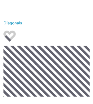 Patterns - Diagonals