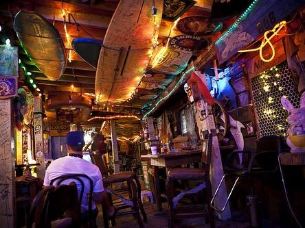 Fat Pelican bar in Carolina Beach, North Carolina