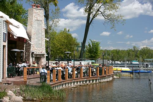 Deck at Rose's on Reeds Lake